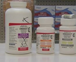 Endocet 7.5mg/325mg (oxycodone and acetaminophen)